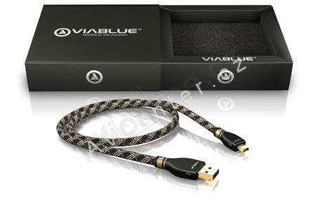 Mini USB kabel Viablue, 2m