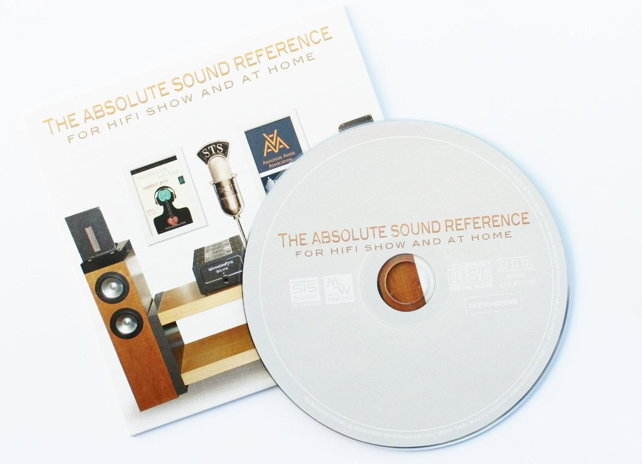 "CD ""The Absolute Sound Reference vol.2"""