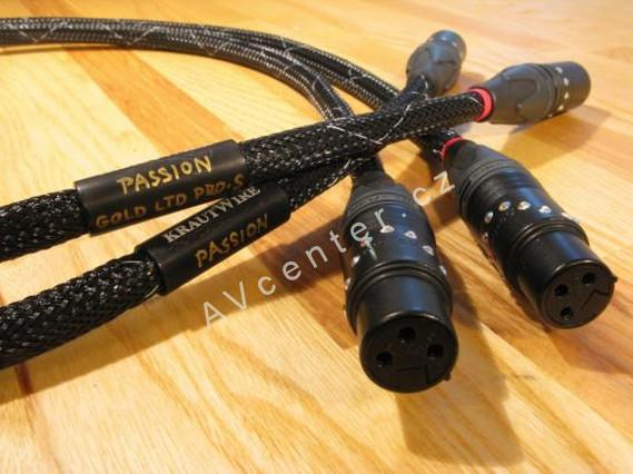 Audio kabel KrautWire Passion Gold - 0,8m