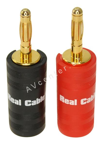 Real Cable banana B6932, set 4 ks
