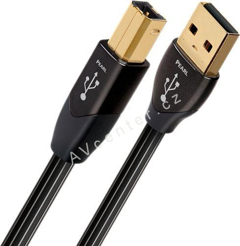 USB 2.0 A-B kabel AudioQuest Pearl - 0,75m