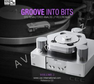 "CD disk ""Groove Into Bits vol.2"""