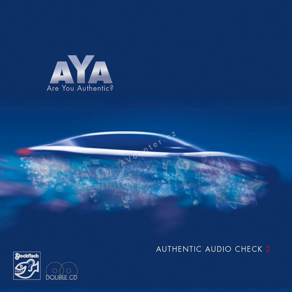 2x CD Aya-Authentic Audio Check Vol.2