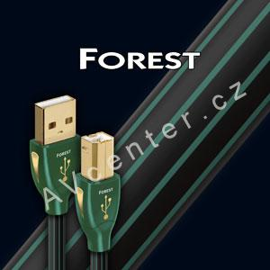 USB 2.0 A-B kabel AudioQuest Forest, - 0,75m