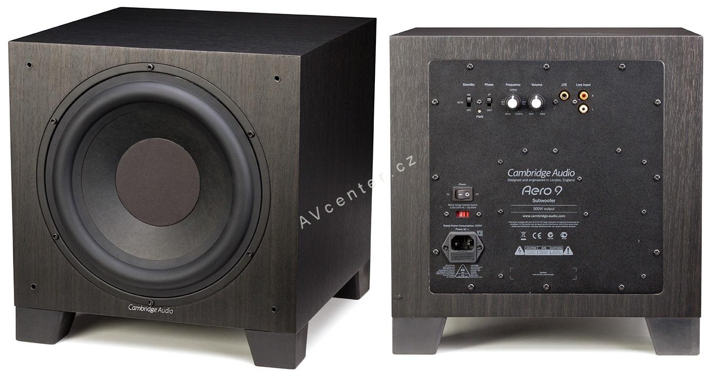 cambridge audio aero 9 10 high end subwoofer bass 500w. Black Bedroom Furniture Sets. Home Design Ideas
