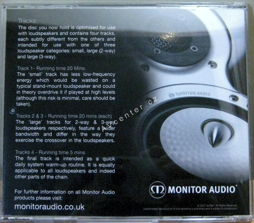 Monitor Audio De-Tox CD by IsoTek
