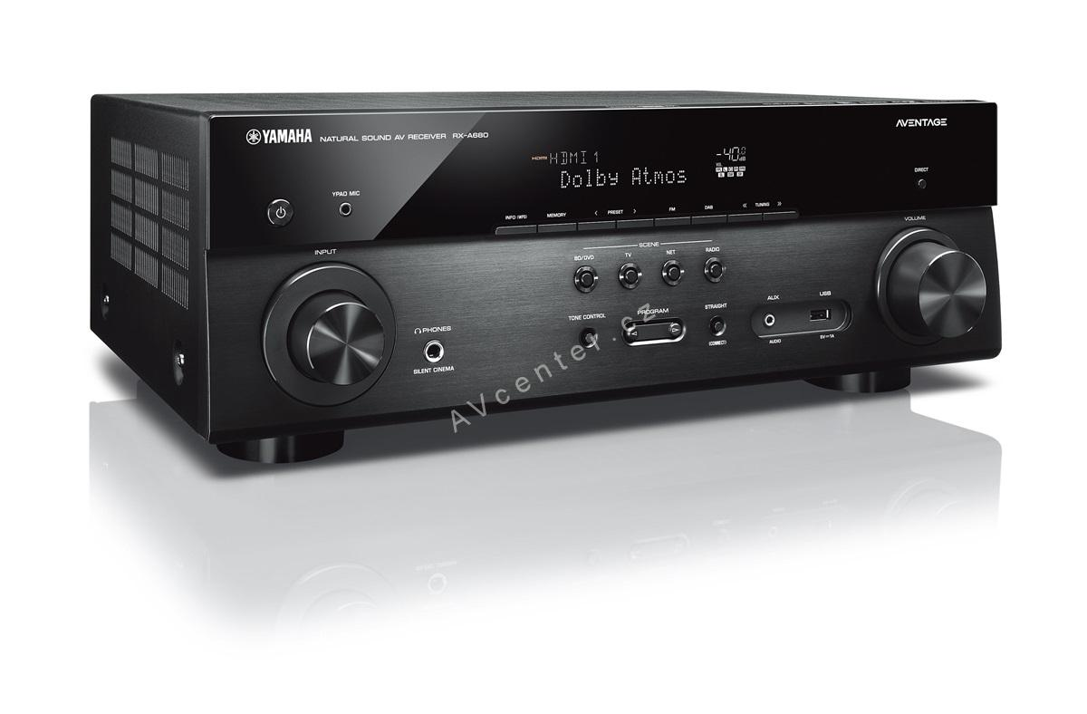 av receiver 7 2 yamaha rx a680. Black Bedroom Furniture Sets. Home Design Ideas