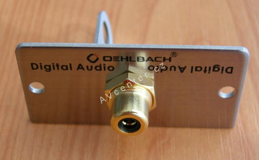 Zásuvka Digital Audio / Analog Video Oehlbach 8846
