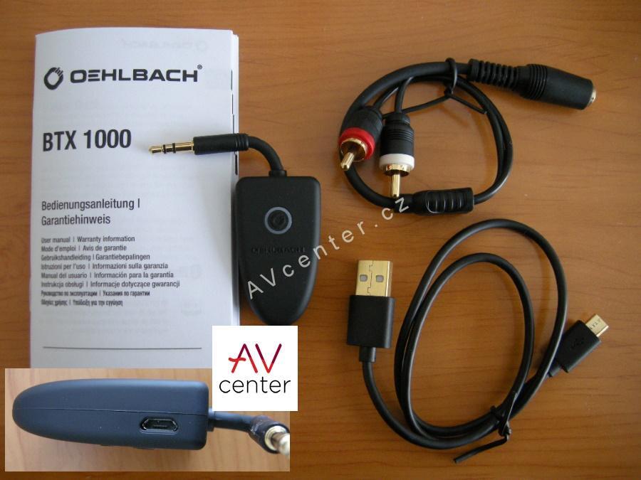 bluetooth receiver s aptx oehlbach btx 1000. Black Bedroom Furniture Sets. Home Design Ideas