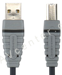 USB kabel A-B Bandridge BCL4101 - 1m