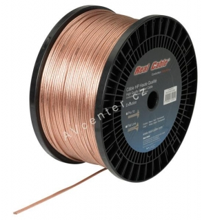 Reprokabel Real Cable PRO10 Transparent, 2x2,64mm2
