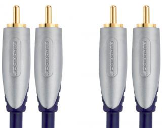 Bandridge Premium SAL4202 - Stereo audio kabel - 2 m
