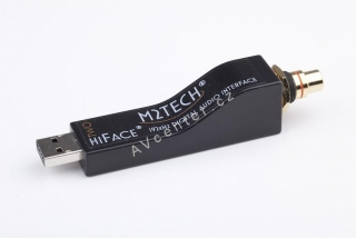 M2Tech hiFace TWO, RCA + coax kabel 1m