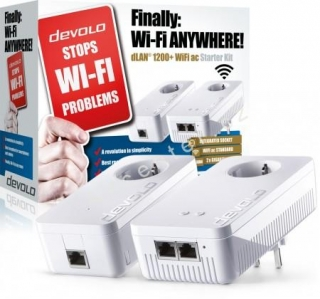 Starter Kit Devolo dLAN® 1200+ WiFi ac