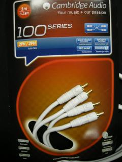 Stereo kabel Cambridge Audio A100 RCA - 1m