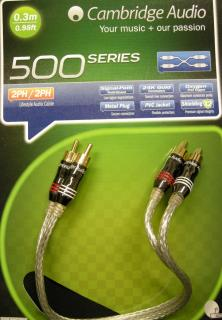 Stereo kabel Cambridge Audio A500 RCA - 0,3m