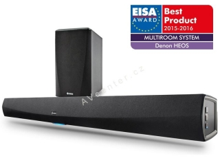 HEOS Home Cinema - soundbar se subwooferem - black