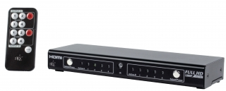HDMI matrix switch HQ 4>2 + coax s/pdif