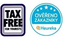 Tax Free & Ověřeno zákazníky