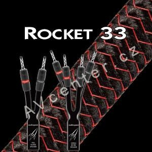 Bi-Wire reprokabel AudioQuest Rocket 33 (SBW) - 2x3m