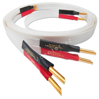 Reproduktorový kabel NordOst Leif White Lighting - 2x3m